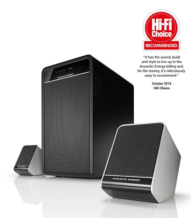 Acoustic Energy Aego3 завоевала престижную награду Hi-Fi Choice Recommended