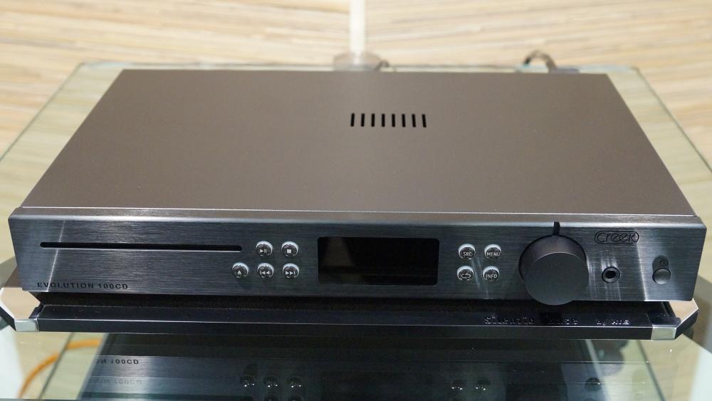 Creek Evolution 100CD, интегральный усилитель Creek Evolution 100A, акустические системы Epos K3