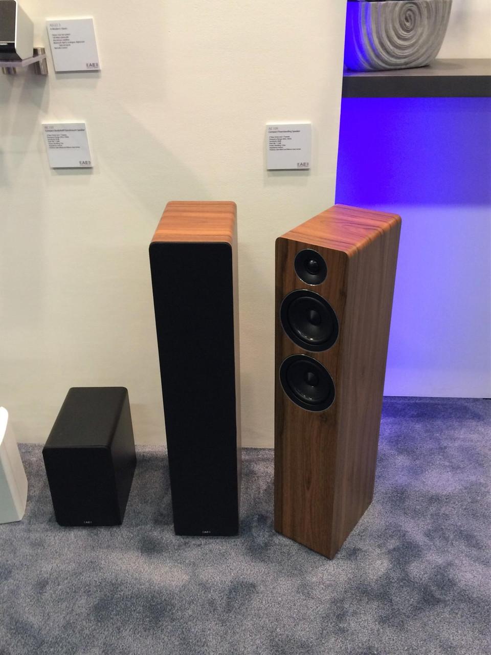 Acoustic Energy AE 100 и AE 109