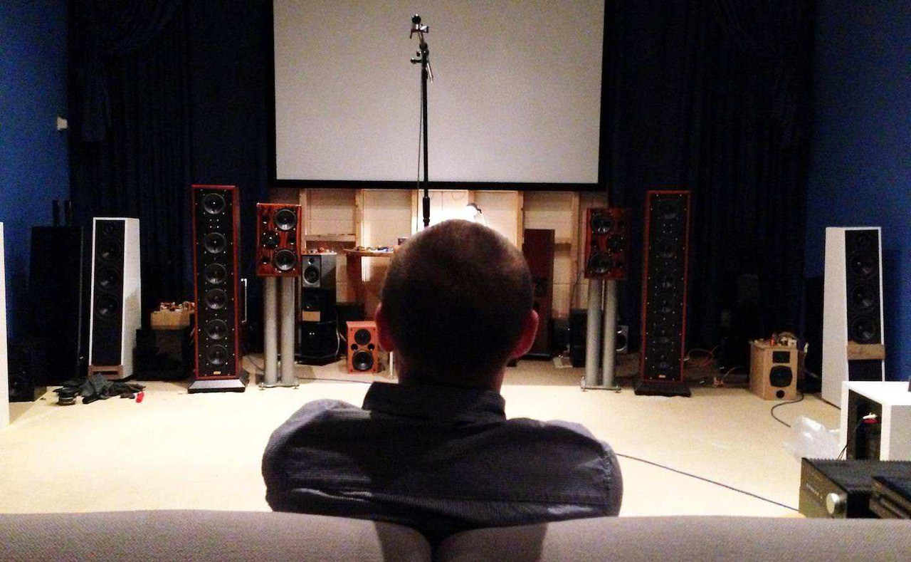Комната прослушивания в штаб-квартире Acoustic Energy