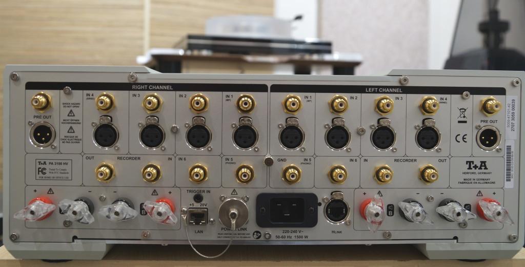 Т+А High Voltage