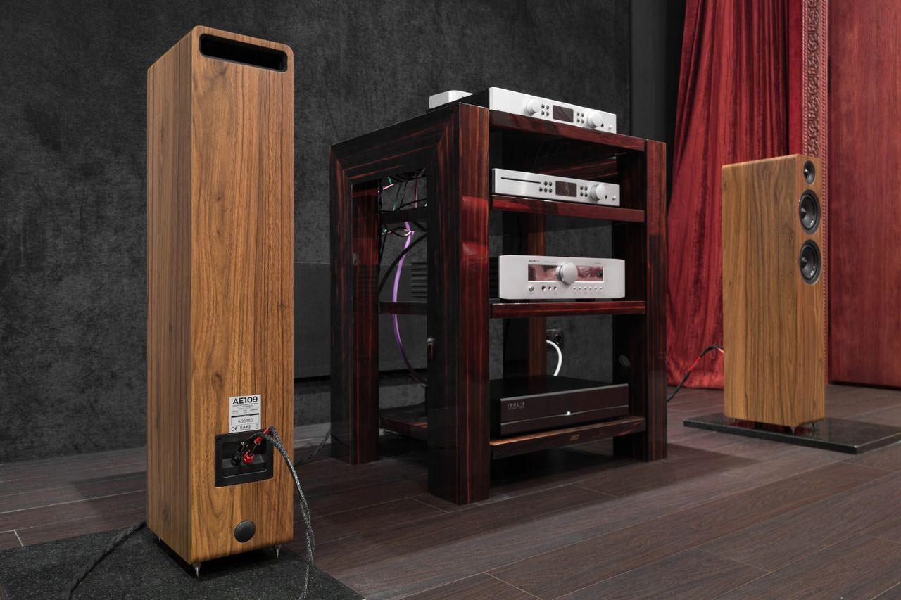 AE109 — идеальная референсная акустика, которую только можно себе представить в данной ценовой категории